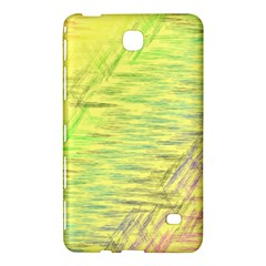Paint on a yellow background                  Samsung Galaxy Tab 4 (7 ) Hardshell Case