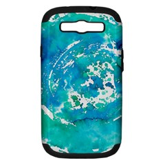 Blue watercolors circle                    Apple iPhone 5 Classic Hardshell Case