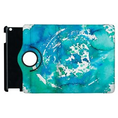 Blue watercolors circle                    Samsung Galaxy S III Classic Hardshell Case (PC+Silicone)