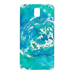 Blue watercolors circle                    Samsung Galaxy Note 10.1 (P600) Hardshell Case