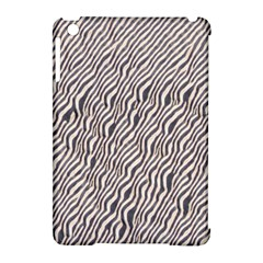 Zebra Pattern Animal Print Apple iPad Mini Hardshell Case (Compatible with Smart Cover)