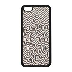 Zebra Pattern Animal Print Apple iPhone 5C Seamless Case (Black)