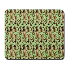 Puppy Dog Pattern Large Mousepads