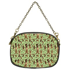 Puppy Dog Pattern Chain Purses (one Side)