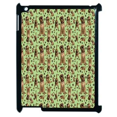 Puppy Dog Pattern Apple Ipad 2 Case (black)