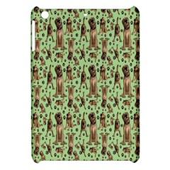 Puppy Dog Pattern Apple Ipad Mini Hardshell Case