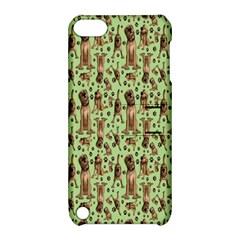 Puppy Dog Pattern Apple Ipod Touch 5 Hardshell Case With Stand