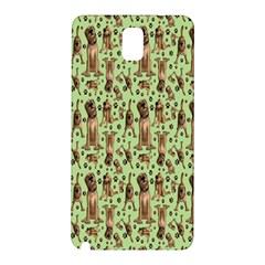 Puppy Dog Pattern Samsung Galaxy Note 3 N9005 Hardshell Back Case