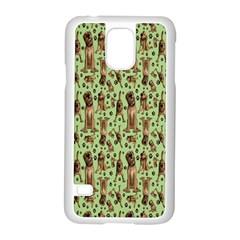 Puppy Dog Pattern Samsung Galaxy S5 Case (white)