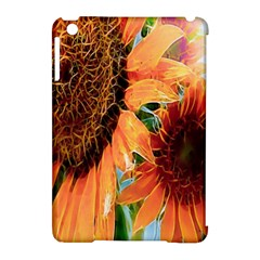 Sunflower Art  Artistic Effect Background Apple iPad Mini Hardshell Case (Compatible with Smart Cover)