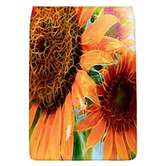 Sunflower Art  Artistic Effect Background Flap Covers (l)