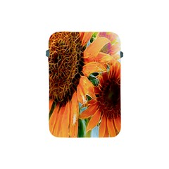 Sunflower Art  Artistic Effect Background Apple iPad Mini Protective Soft Cases