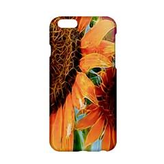 Sunflower Art  Artistic Effect Background Apple Iphone 6/6s Hardshell Case