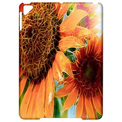Sunflower Art  Artistic Effect Background Apple Ipad Pro 9 7   Hardshell Case