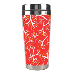 Small Flowers Pattern Floral Seamless Pattern Vector Stainless Steel Travel Tumblers