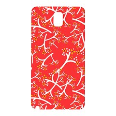 Small Flowers Pattern Floral Seamless Pattern Vector Samsung Galaxy Note 3 N9005 Hardshell Back Case