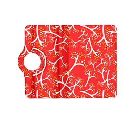 Small Flowers Pattern Floral Seamless Pattern Vector Kindle Fire Hd (2013) Flip 360 Case
