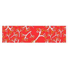 Small Flowers Pattern Floral Seamless Pattern Vector Satin Scarf (oblong)