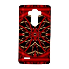 Fractal Wallpaper With Red Tangled Wires Lg G4 Hardshell Case