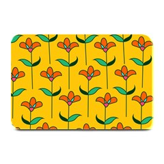 Small Flowers Pattern Floral Seamless Pattern Vector Plate Mats