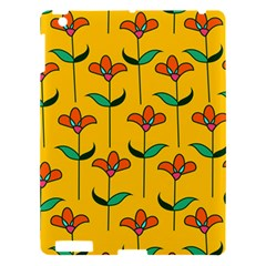 Small Flowers Pattern Floral Seamless Pattern Vector Apple iPad 3/4 Hardshell Case