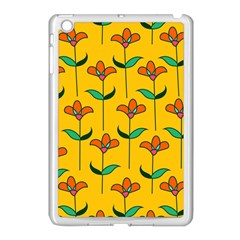 Small Flowers Pattern Floral Seamless Pattern Vector Apple Ipad Mini Case (white)