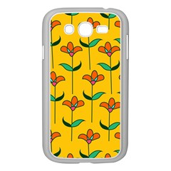 Small Flowers Pattern Floral Seamless Pattern Vector Samsung Galaxy Grand Duos I9082 Case (white)