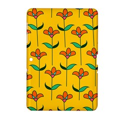 Small Flowers Pattern Floral Seamless Pattern Vector Samsung Galaxy Tab 2 (10 1 ) P5100 Hardshell Case