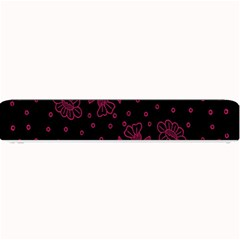 Pink Floral Pattern Background Wallpaper Small Bar Mats