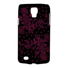 Pink Floral Pattern Background Wallpaper Galaxy S4 Active