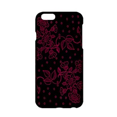Pink Floral Pattern Background Wallpaper Apple Iphone 6/6s Hardshell Case