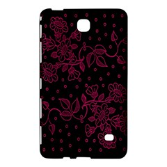 Pink Floral Pattern Background Wallpaper Samsung Galaxy Tab 4 (7 ) Hardshell Case