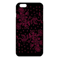 Pink Floral Pattern Background Wallpaper Iphone 6 Plus/6s Plus Tpu Case