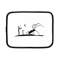 Dark Scene Silhouette Style Graphic Illustration Netbook Case (Small)