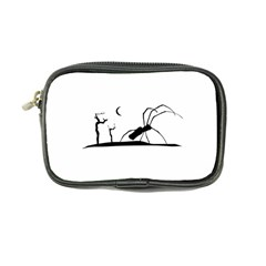 Dark Scene Silhouette Style Graphic Illustration Coin Purse