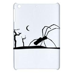 Dark Scene Silhouette Style Graphic Illustration Apple iPad Mini Hardshell Case