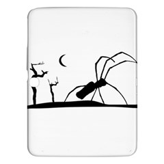 Dark Scene Silhouette Style Graphic Illustration Samsung Galaxy Tab 3 (10.1 ) P5200 Hardshell Case