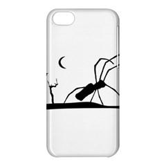 Dark Scene Silhouette Style Graphic Illustration Apple iPhone 5C Hardshell Case