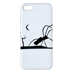 Dark Scene Silhouette Style Graphic Illustration iPhone 5S/ SE Premium Hardshell Case