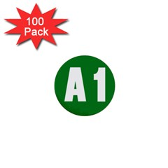 Autostrada A1 1  Mini Buttons (100 pack)