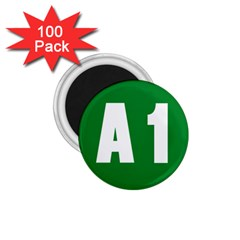 Autostrada A1 1 75  Magnets (100 Pack)