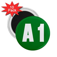 Autostrada A1 2.25  Magnets (10 pack)