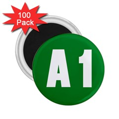 Autostrada A1 2 25  Magnets (100 Pack)