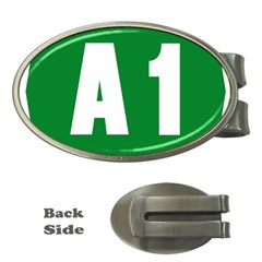 Autostrada A1 Money Clips (Oval)