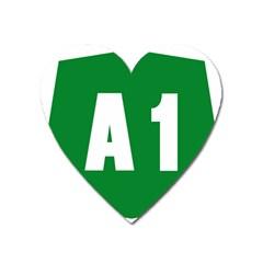 Autostrada A1 Heart Magnet