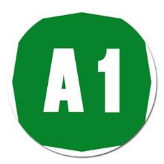 Autostrada A1 Magnet 5  (Round)