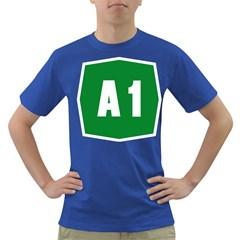 Autostrada A1 Dark T Shirt