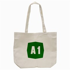 Autostrada A1 Tote Bag (Cream)