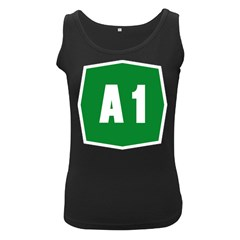 Autostrada A1 Women s Black Tank Top