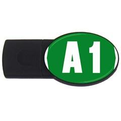 Autostrada A1 USB Flash Drive Oval (4 GB)